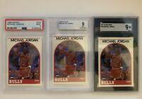1989-90 NBA Hoops MICHAEL JORDAN #200 BGS, SGC, PSA 9 MINT