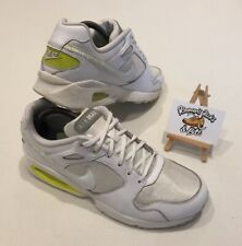 Nike Air Max Coliseum RCR White Volt Base Trainers UK 7.5 UNISEX VINTAGE RARE