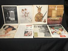 Lot  Viceroy Cigarette Ad  Kent White Owl Silva Pall Mall Chesterfield Walter