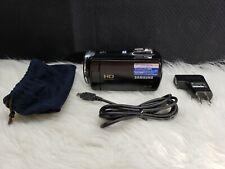 Samsung Hmx-F80Bn High Definition Flash Media Camcorder, Bundle