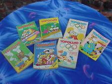 Walt Disney Topolino Comic Books,1972,Italian,No.856,858,877,899,1480,1481,1482