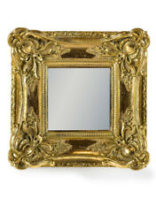 NEW Antique Gold Ornate Framed Wall Mirror Square French Baroque Antique Style