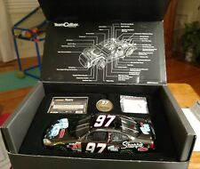 Kurt Busch Black Chrome Team Calibur Blue Ice Rubbermaid 1 of 360 (RARE)