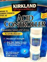 Kirkland Acid Controller 20mg 250 Count Relief Heartburn Stomach Indigestion