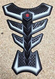 Fluorescent Rubber Motorcycle Tank Pad Suzuki GSF GSXR Bandit GSX GSX-R (Type 2)