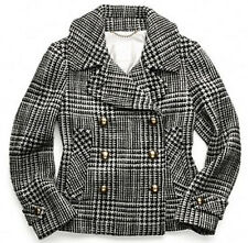 Coach Authentic Women's Wool Emmanuelle Novelty Peacoat Small NWT $548