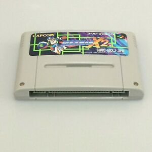 Rockman X2 Megaman Super Famicom SFC Nintendo Entertainment System SNES Japan