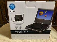 onn portable dvd player New