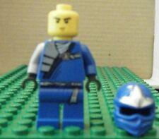 LEGO MINIFIGURE–NINJAGO, JAY  ZX (NO SWORD) - GENTLY USED