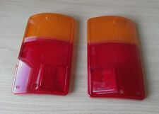 Fiat Polski 126 126p BIS FSM Niki Taillight Lens Set Pair Original OE 2 Screw