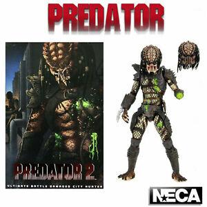 Predator 2 Ultimate Battle Damaged City Hunter Action Figure - Brand New