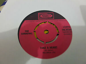TAKE A HEART // THE SORROWS MOODY UK BEAT RARE PICCADILLY 1965