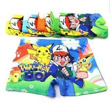 Boys 2pcs Boxers Short Underwear Pokemon Go Panties Short Kid Accessories