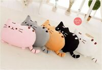 Coussin d'oreiller farci de chats décoration maison peluche douce enfants jouets