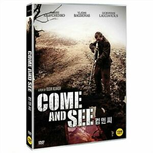 Come And See 1985 Aleksey Kravchenko UK Compatible Region Free DVD WORLD WAR II