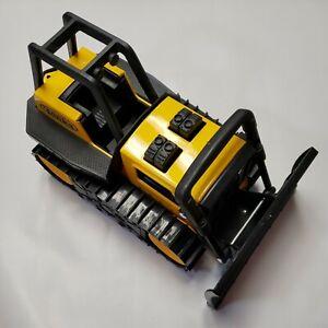 2012 Tonka Toy Bull Dozer #92961 Yellow Pressed Steel Bulldozer Tractor Digger