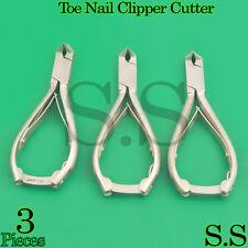 3 Toe Nail Clipper Cutter Pedicure, Moon Shape,Excellent