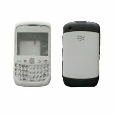 Blackberry Curve 9300 Housing Full Keypad Chassis Back Door Screen Lens White