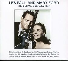 LES PAUL AND MARY FORD THE ULTIMATE COLLECTION CD BYE BYE BLUES & MANY MORE