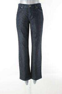 David Kahn NEW $168 Sz 8P x 29 Dark Wash Denim 5 Pocket Designer Jeans 327A