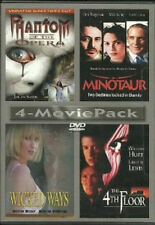 4 MOVIE PACK - PHANTOM OF THE OPERA / MINOTAUR / WICKED WAYS / 4TH FLOOR - NEW!!