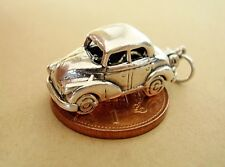 MORRIS MINOR CAR VEHICLE OPENING STERLING SILVER CHARM