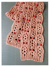BEAD SKINNY SCARF - JACKIE E-S DESIGN COLLECTION HEARTSTRINGS