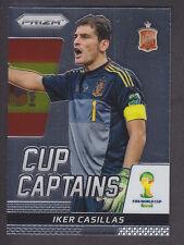 Panini Prizm Copa del Mundo 2014-Copa Iker Casillas capitanes # 14-España