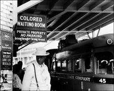 Colored Bus Station Photo 8X10 - Durham NC 1940 - Buy Any 2 Get One FREE
