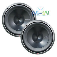 "(2) ROCKFORD FOSGATE P3D2-12 12"" PUNCH P3 DUAL 2-OHM SUBS WOOFERS 1200W SUB PAIR"