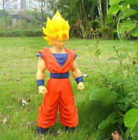 "Large New Dragon Ball Z Figure Super Goku 17""High Gift In Stock Ready to Ship"