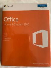 Microsoft Office Home and Student 2016 Windows PC Key Card- English Eurozone