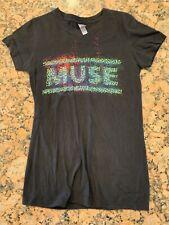 2013 Muse Concert Tour Girls Shirt M Medium Vintage Alternative Rock Tee