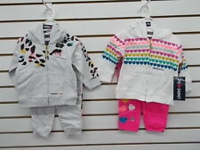 Infant & Toddler Girls Limited Too $40-$42 2pc Assorted Sweatsuits Size 12m - 4T