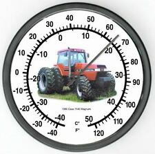"""New 1990 Rc Case Model 7140 Magnum Tractor Wall Thermometer 10"""" Round Years 1990"""