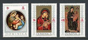 Dominica Scott #241 NOTE MNH Christmas 1968 ART CV$6+