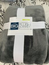 The Big One Super soft Plush Blanket King Size 108� X 92�