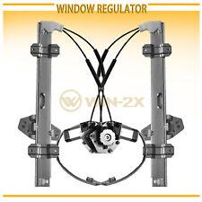 2pcs Front Left+Right Power Window Regulators w/ Motor Fit 94-97 Accord 4/5-Door