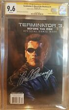 Terminator 3: Rise of the Machines #1_CGC 9.6 SS_Signed by Arnold Schwarzenegger
