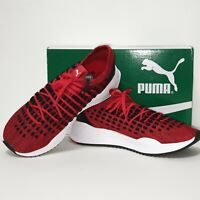 Puma Sock Knit Unisex Red Sports Trainers UK7 EU41 US8 RRP £95.00