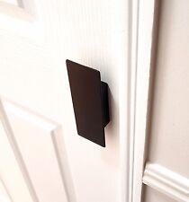 WARDROBE OR KITCHEN DOOR HANDLES MATT BLACK 135mm LONG X 50mm WIDE