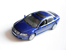 Volkswagen VW Phaéton en Bleu Bleu Blu Blue Metallic, Minichamps Dans 1:43!