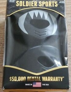 SOLDIER SPORTS ELITE AIR LIP PROTECTOR MOUTHGUARD ONE SIZE 2 PACK BLACK
