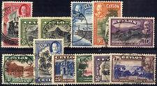 Handstamped George V (1910-1936) Ceylon Stamps