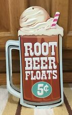 Root Beer Floats Theater Lobby Drive In Cinema Popcorn Stand Poster Movie Diner