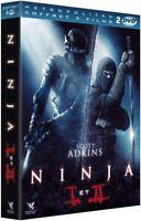 COFFRET 2 FILMS (2 DVD) - NINJA I ET II - SCOTT ADKINS - NEUF SOUS BLISTER