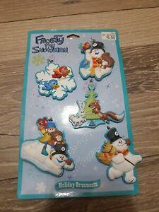 Frosty the Snowman 5 Pk Mini Ornament Set