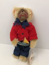BARTON'S CREEK COLLECTION BY GUND LIMITED EDITION MONTY PLUSH BEAR SAILOR SUIT