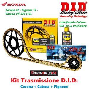 100304 - Kit Trasmissione DID Corona+Catena+Pign per HONDA Hornet 600 dal 2003 >