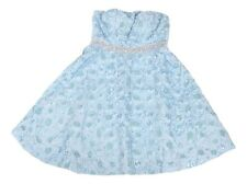 08465da2ecd7 Disney Junior s Size 5 Baby Blue Cinderella Collection Strapless Dress